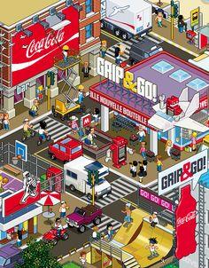 #robot #illustration #pixelart