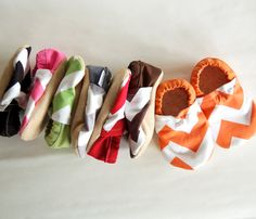 Chevron Bison Booties Size 18 to 24 Months toddler Ready to Ship zig zag slippers cloth fabric vegan - Baby Products My Baby Girl, Our Baby, Little Babies, Cute Babies, Everything Baby, Baby Time, Having A Baby, Cool Baby Stuff, Baby Month By Month