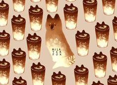 Milk Fox Tea by nkim