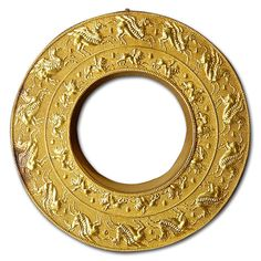 Gold's scarcity in the ancient world caused the goldsmiths of that period to use it sparingly. The amount of gold necessary to create a solid bulky earring ...