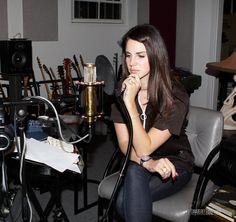 Lana in a studio in Los Angeles (Jan. 26, 2013)