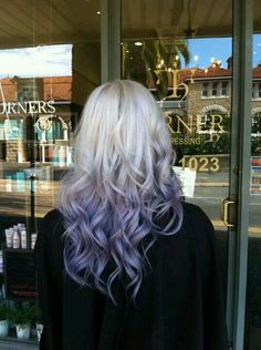 Purple with platina