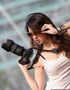 beautiful photographer - career in photographic