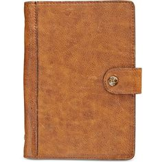 Patricia Nash Distressed Vintage Chieti Agenda ($69) ❤ liked on Polyvore featuring home, home decor, stationery, fillers, accessories, books, things and distressed vintage cognac