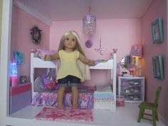 American Girl Spirit Doll Rooms