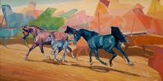 Piano, oil on canvas, 40x80, 2017, Daria Solar Art, a painter from the #lovingvincent team, http://www.dariasolar.eu/,       #horse #piano #stalion #mare #music #pianomusic #horses #arabianhorse