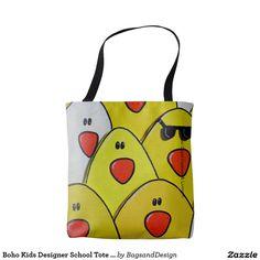15% OFF Happy Kids Designer Tote Bags - School Bags by Marijke Verkerk Design.  Feel Good Fashion & Living® www.marijkeverkerkdesign.nl
