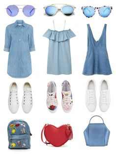"""""""Sin título #746"""" by mar-quintana on Polyvore featuring moda, Seafolly, MANGO, Converse, Witchery, Marc Jacobs, ZeroUV, Quay y Matthew Williamson"""