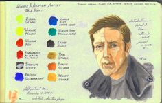 How to Mix Skin Tones in Transparent Watercolor