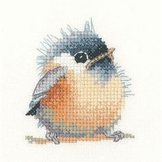 Meesje -Chickadee : Vogels - De Spinnerij