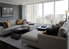 50 Living Rooms with Chic Sectionals