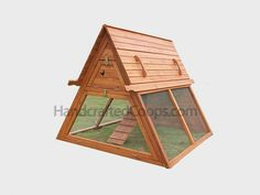 Triangular Chicken Coop