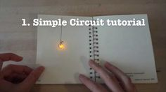 Circuit Stickers tutorial 1: simple LED circuit
