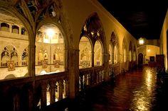 Claustro gótico del Monasterio de Santa María de Guadalupe