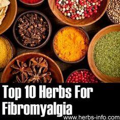 Top 10 herbs for fibromyalgia