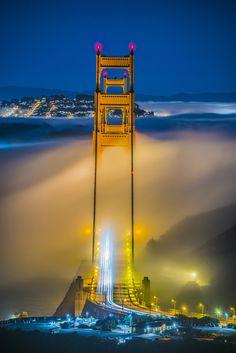 San Francisco Feelings - Golden Gate Bridge by Seungho Yoo