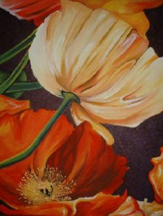 Poppy Ensemble Painting at ArtistRising.com