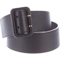Pre-owned Louis Vuitton Leather Waist Belt (11.395 RUB) ❤ liked on Polyvore featuring accessories, belts, black, waist belt, louis vuitton belt, circle belt and louis vuitton