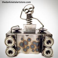Metal Art DJ Boogie by TheDaRkMetalArtStore on Etsy