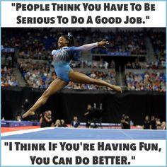 Atop the Gymnastics World, Simone Biles Can't Suppress Her Grin All Around Gymnastics, Gymnastics Facts, Gymnastics Events, Gymnastics Tricks, Gymnastics World, Gymnastics Training, Artistic Gymnastics, Inspirational Gymnastics Quotes, Famous Gymnasts