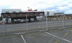Photo of Oasis 4 (---------of the Seas) keel block at the Saint-Nazaire Shipyard