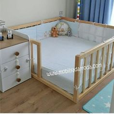30 Smart Baby Toddler Bedroom Design Ideas to Inspire You is part of Baby furniture It takes enough creativity to make your child's room more attractive and unique The design of a toddler room is - Baby Bedroom, Baby Boy Rooms, Baby Cribs, Twin Cribs, Room Baby, Bunk Bed Crib, Kids Bedroom Dream, Baby Playpen, Girl Rooms