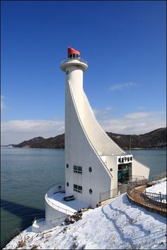 Mokpo Waterway Lighthouse ~ South Korea