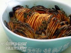 Crispy Sweet Potatoes - gluten-free and sugar-free