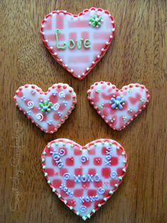 Sweet Ivy Confections....Valentine Cookies