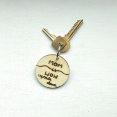 Mother's Day Keychain by ForYouCreationsUK on Etsy