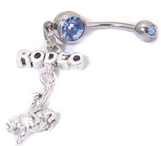 Love Rodeo Dangling Horse Belly Navel Button Ring--omg I need! Country Belly Rings, Cute Belly Rings, Dangle Belly Rings, Belly Button Rings, Belly Button Piercing Jewelry, Bellybutton Piercings, Piercing Ring, Daith, Body Piercing