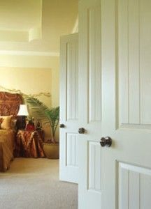 Pros and cons of closet door types.