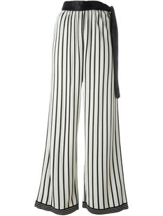 Shop Jean Paul Gaultier Vintage striped palazzo trousers in House of Liza from the world's best independent boutiques at farfetch.com. Shop 400 boutiques at one address.