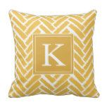 Personalize Modern Herringbone Pattern Pillow more great gift ideas at www.dramaticallycorrectdesigns.com