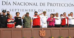 El gobernador Javier Duarte expresó su gratitud a instituciones como el Ejército Mexicano, Marina-Armada de México, Secretaría de Seguridad Pública (SSP), que activa de forma exitosa el Plan Tajín, y Cruz Roja.