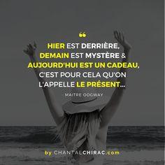 Merci à VOUS Toutes & Tous d'être PRÉSENT dans ma VIE. Je Savoure ce CADEAU à chaque Instant Merci pour vos Précieux Commentaires (sur Facebook & Instagram) qui me Touchent du fond du ❤...#citation #cadeau #présent #chantalchirac