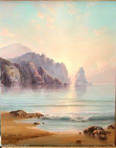 "Sergey Koval Seascape-14"" - oil, canvas $2430.00"