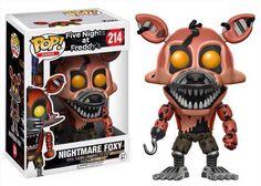 Funko pop. Nightmare Foxy. FNAF