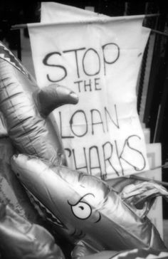 Challenging the legal loan sharks at the launch of the Debt On Our Doorstep campaign