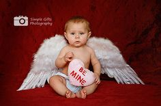 Lil' cupid Valentine Cupid with cute wings