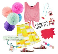 """""""Hope your day is bright"""" by musicfriend1 on Polyvore featuring Steve Madden, Nails Inc., New Look, Ettika, Christopher Kane, Dorothy Perkins, lovethis, haveagoodday and summerbrights"""