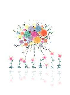 #Illustrate #Drawing #DigitalPainting #Flower #Nature https://www.facebook.com/Hanatist/