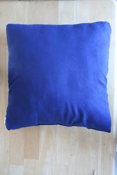 Slipcover pillow with fabric paint