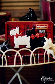 scottie dog shortbread cookie tin {Christmas Collectibles} My Scottie Dog Collection
