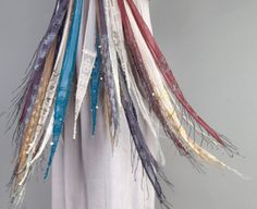 Chan Luu is a designer of jewelry, accessories and ready to wear. Originally from Vietnam, Luu moved to the United States in 1972 to study business at Scarf Necklace, Scarf Jewelry, Skinny Scarves, Chan Luu, Up Styles, Scarf Wrap, Dress Up, Fashion Tips, Fashion Design
