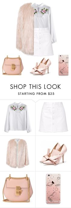 """""""Untitled #705"""" by emily-may-oxo ❤ liked on Polyvore featuring Steve J & Yoni P, Sans Souci and Chloé"""