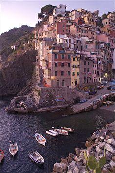 Riomaggiore, Italy Copyright: Klaudio Branko Dadich