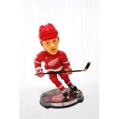 Detroit Red Wings Luc Robitaille 2002 Bobble Head Doll