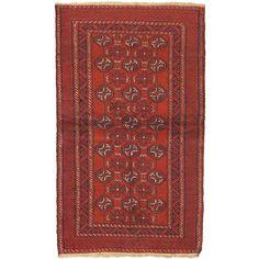 eCarpetGallery Bahor Hand-knotted Rug (3'4 x 5'10) ( Rug )