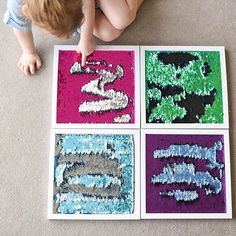 Mermaid Fabric Sensory Frames ✨ Did you see our IG Stories on these Sensory Frames? After seeing this Fabric all over FB, I just had to… Sensory Tubs, Sensory Wall, Sensory Rooms, Sensory Boards, Baby Sensory, Sensory Activities, Infant Activities, Motor Activities, Sensory Room Autism